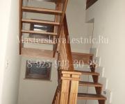 Деревянные лестницы из дуба деревня Сколково Одинцовский район