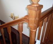 Деревянные лестницы из дуба коттеджный поселок Чистые Ключи Москва, Россия
