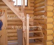 Деревянные лестницы деревня Полушкино Одинцовский район (григорово)