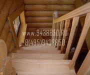 Деревянные лестницы Горки-10 (лестницы из сосны, лиственницы,дуба) производство