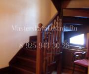Деревянные лестницы из дуба коттеджный поселок Риверсайд Истринский район