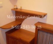 Мебель для прихожие комнаты из дерева на заказ