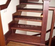 Деревянные лестницы из дуба Одинцово Немчиновка Пионерская Баковка Лестной городок
