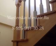 Фотография готовых деревянных лестниц из бука для дома