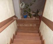 Деревянные лестницы из дуба Апрелевка - Облицовка лестниц деревом Апрелевка