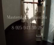 Деревянные лестницы из дуба поселок Заречье Одинцовский район