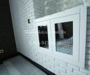 Встроенный шкафчик - система хранения зеркальный дверцы