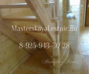 Деревянные лестницы для дома деревня Воскресёнки Истринский район, Московская область